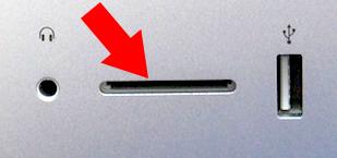 iMac card slot