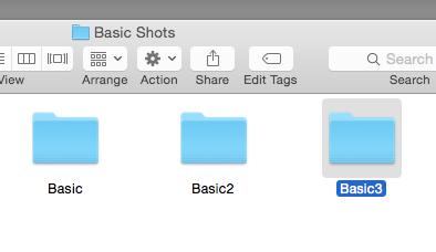 Third footage folder