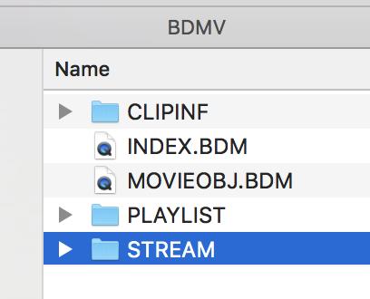 Copy STREAM folder