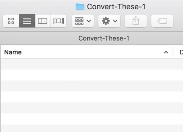 Open Convert-These folder